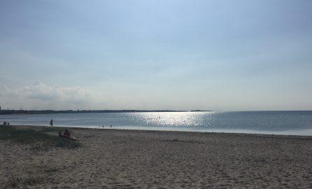 Strandbild von der Ostsee der Ferienfreizeit