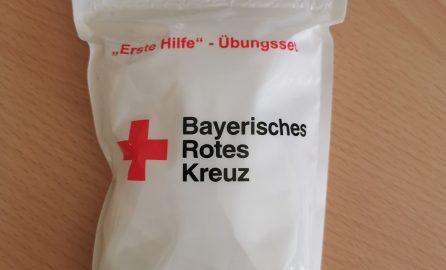 Bayrisches Rotes Kreuz - Erste Hilfe Kurs - Übungsset
