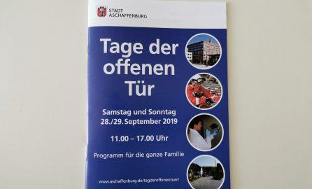 Bild der Broschüre für den Tag der offenen Tür
